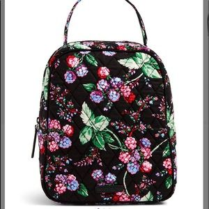 Vera Bradley Winter Berry Lunch Bunch Bag